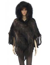 Handmade Fur Ladies Brown
