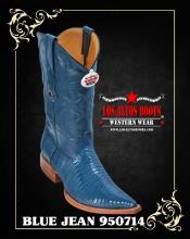 RV35 3X-Toe Lizard Teju Cowboy Boots by Authentic Los