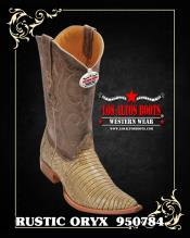 TH78 3X-Toe Lizard Teju Cowboy Boots by Authentic Los