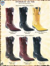 6J4F 3X-Toe Stingray skin Cowboy Western Boots Diff Colors/Sizes