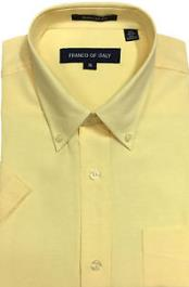 Men's Basic Button Down Oxford