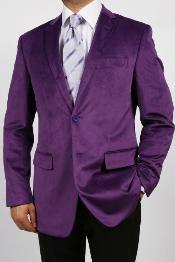 color shade VELVET Blazer