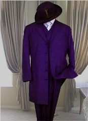 DPR8991 Classic Long Dark Purple color shade Fashion Long