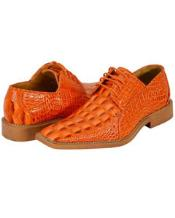 New Orange Dress Shoes