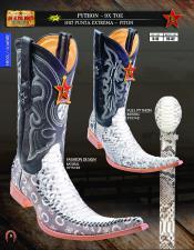 Los altos botas tribaleras