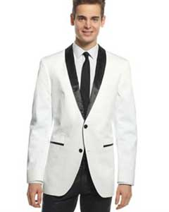 One Button White and