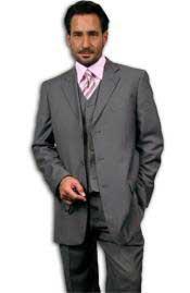 3 Button Style Gray~Grey