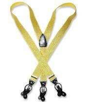 Gold Color Suspenders Y