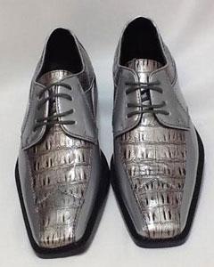 Dress in Silver Grey