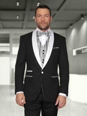 Jet Black statement attire