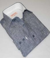 Inserch Mens Button Front