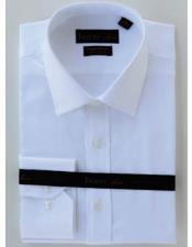 JSM-1566 Mens Tiglio White Double Twist Cotton Modern Fit