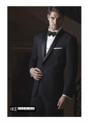 "JSM-2366 ""Braydon"" 1-Button Shawl Black Tuxedo"