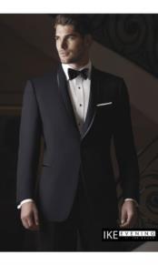 """JSM-2384 """"Waverly"""" Black Tuxedo Jacket"""