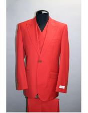 JSM-2656 Mens Tiglio Rosso San Giovesse Red Suit For