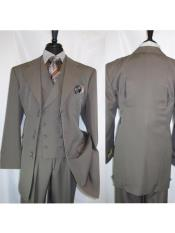 Fortino Landi 2917v Mens Notch Lapel 6 Paired Buttons