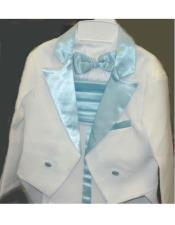 Two Toned White Tailcoat