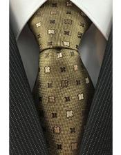 JSM-4080 Mens Skinny Necktie Brown Iridescent Woven with Geometric