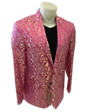 JSM-4450 Paisley-100 Alberto Nardoni Best Mens Italian Suits Brands
