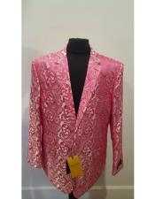 FloralFuchsiaSportcoat~PaisleyJacket~UniqueShiny