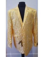 JSM-4575 Floral Sportcoat ~ Paisley Jacket ~ Unique Shiny