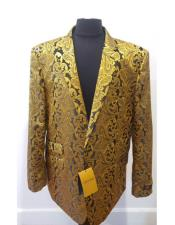 JSM-4576 Floral Sportcoat ~ Paisley Jacket ~ Unique Shiny