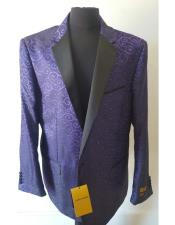 Fashion Purple Blazer