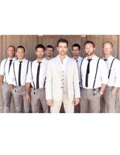 JSM-4716 Groom and Groomsmen Wedding Attire For Man (Call