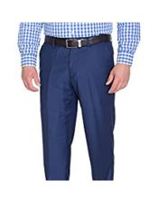 JSM-4784 Braveman Mens Slim Fit Polyester Blend Solid Blue
