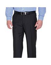 JSM-4785 Braveman Mens Solid Black Slim Fit Polyester Blend