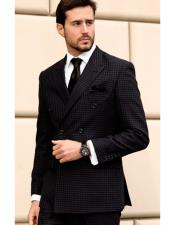 3 Piece Black Suit