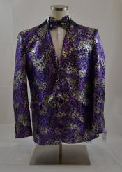 Purple/Silver Sport Coat