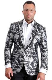 Mens High fashion White
