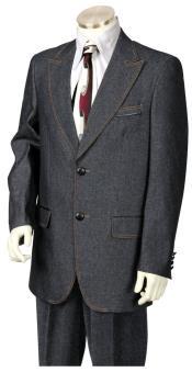 JA20 Mens Faux Leather Buttons Black 3pc Suit Vest