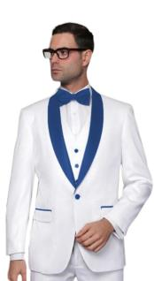 Tux-SH Alberto Nardoni Brands Best Mens Italian Suits White