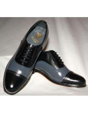 Mens Leather Sole 5 Eyelet