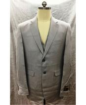 GD1849 Mens Gray Single Breasted 2 Button Mens 2