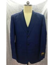 GD1851 Mens Navy Single Breasted Mens 2 Piece Mens