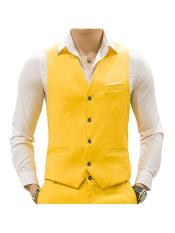 MO674 Mens Matching Waistcoat Causal Suit Vests & Pants