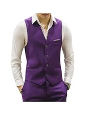 MO680 Mens Matching Waistcoat Causal Suit Vests & Pants