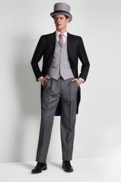 mens Button Pant Fastening Notch