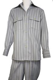 JA397 Mens Harlem Designer Button Fastening Walking Suit