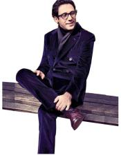 mens Velvet Suit
