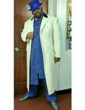 MO765 Mens Big And Tall Trench Coat Raincoats Overcoat