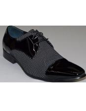 Mens Black ~ White Cushioned