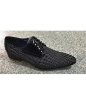 Mens Cushioned Insole Polka Dot