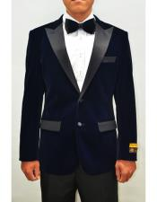 Mens Blazer Navy