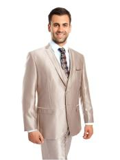 SR36 Mens 3 Piece  Single Breasted Two Button