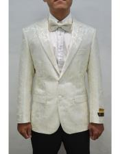Unique Ivory mens Floral ~ Fancy