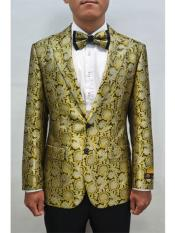 mens Bronze Floral ~ Fancy Fashion